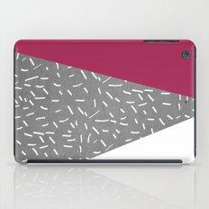 Concrete & Lines iPad Case