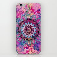 Metallic Sunset Mandala iPhone & iPod Skin