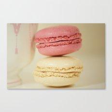 raspberry and coconut Canvas Print