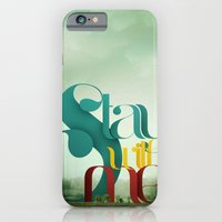 iPhone & iPod Case featuring Stay by ARJr