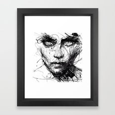 In trouble, she will. Framed Art Print