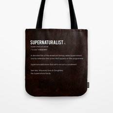 Supernaturalist Tote Bag
