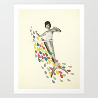 Follow Me : Pisces Art Print