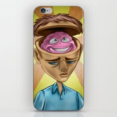 Happy Brain iPhone & iPod Skin