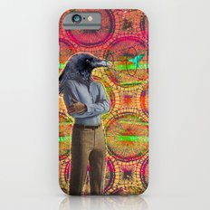 crow head sees all Slim Case iPhone 6s