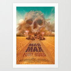 Mad Max - Fury Road Art Print
