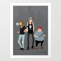 What?! Art Print