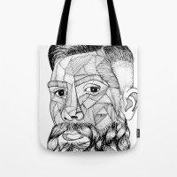 Beard Lovely Tote Bag