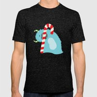 December Monsters: Taste the Holiday Mens Fitted Tee Tri-Black SMALL