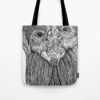 Tree Person Tote Bag