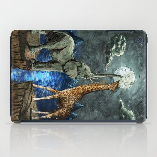 The Magical Forces of the Moon iPad Case