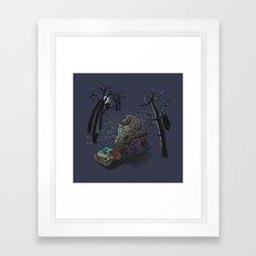 Mobile Library Framed Art Print