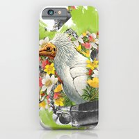 iPhone & iPod Case featuring Terror Tropical 1 by João Noberto