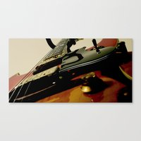 Guitar! Canvas Print