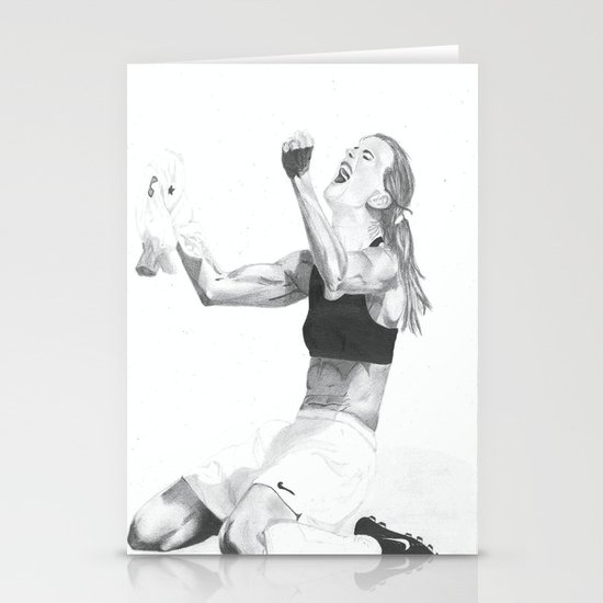 Brandi Chastain Stationery Card