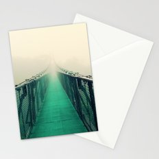 suspension bridge Stationery Cards