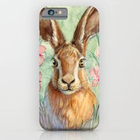 iPhone & iPod Case featuring Bunny and Fireweed A089 by S-Schukina