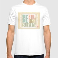 Little Bird - The Weepies Lyrics Mens Fitted Tee White SMALL