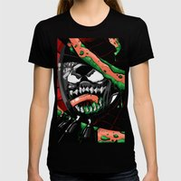 To Catch A Spider Womens Fitted Tee Black SMALL