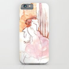 Cloud Mouth: Orange and Magenta iPhone 6 Slim Case