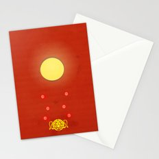 Crimson Typhoon Stationery Cards