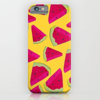watermelon love iPhone 6 Slim Case