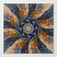 Spinning Energy Canvas Print
