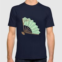 Fan Mens Fitted Tee Navy SMALL
