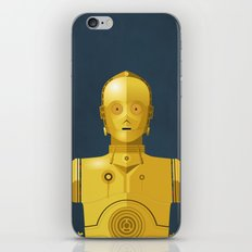Never Tell Me The Odds (C3P0) iPhone & iPod Skin