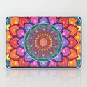 Lotus Rainbow Mandala iPad Case