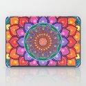 Lotus Rainbow Mandala iPad Case