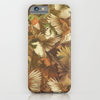 birds iPhone & iPod Cases featuring Red-Throated, Black-capped, Spotted, Barred by Teagan White