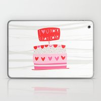Love You More Than Cake Laptop & iPad Skin