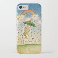 rain iPhone & iPod Cases featuring Rain by José Luis Guerrero