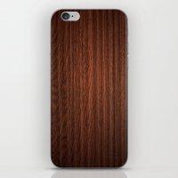 Wood #3 iPhone & iPod Skin