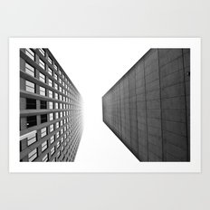 Downtown Winnipeg Art Print