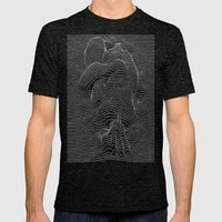Joy Joy Division Mens Fitted Tee Tri-Black SMALL