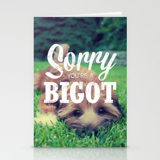 Sorry! Stationery Card