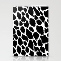 Leopard Polka Stationery Cards