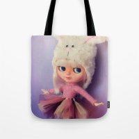 Funny Blythe doll Tote Bag