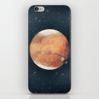 The Red Planet iPhone & iPod Skin