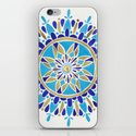 Royal Blue Mandala iPhone & iPod Skin