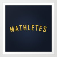 Mathletes - Mean Girls movie Art Print