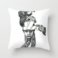 Politicians Today, Keepi… Throw Pillow