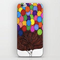 Balloon Head iPhone & iPod Skin