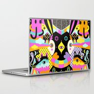 Laptop & iPad Skin featuring Beyond The Stars by Muxxi