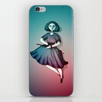 Night Dancer iPhone & iPod Skin