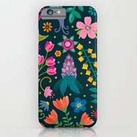 iPhone & iPod Case featuring Floral Heart by Anna Deegan