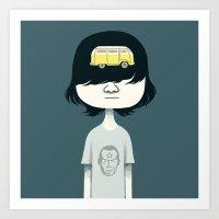 dwayne Art Print