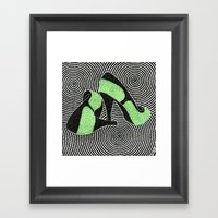 High Heel 3 Framed Art Print
